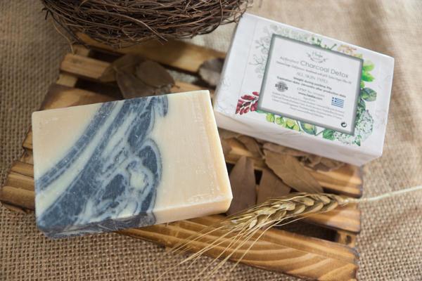 【HEEBE 希臘女神】深層清潔-排毒活性碳橄欖皂 2