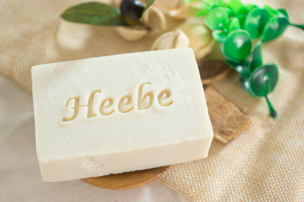 【HEEBE 希臘女神】絲綢驢奶手工初榨冷壓橄欖皂 1