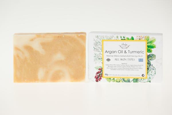 【HEEBE 希臘女神】摩洛哥油及薑黃橄欖皂 3